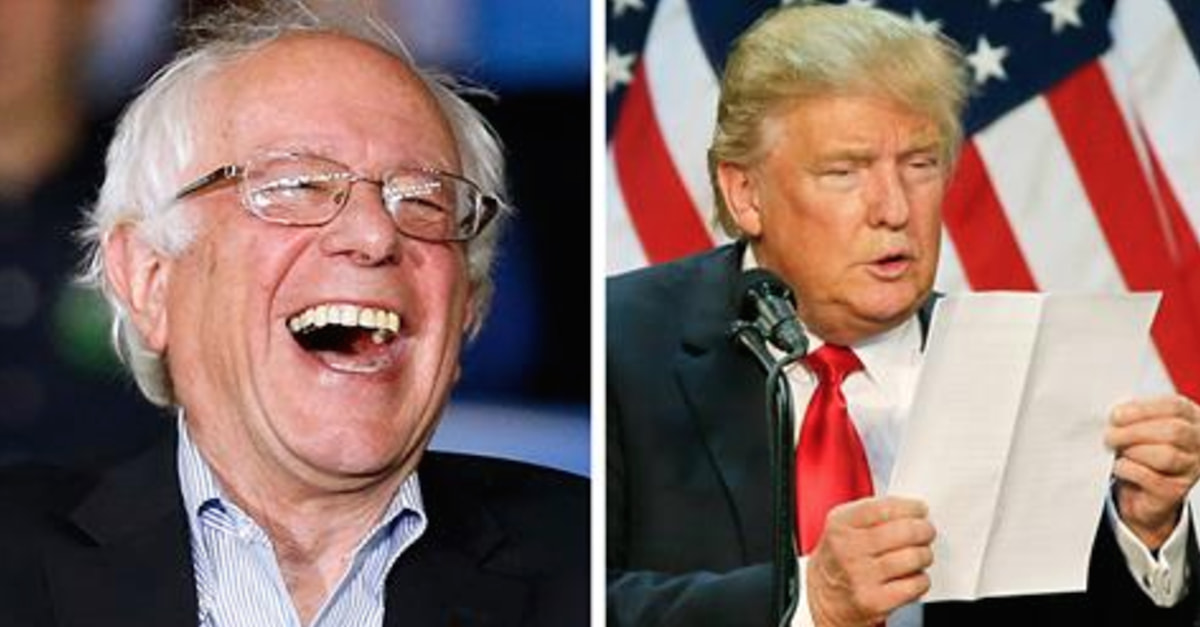 Bernie Sanders Has The Perfect Plan To Force Donald Trump To Pay His Taxes - Private Return