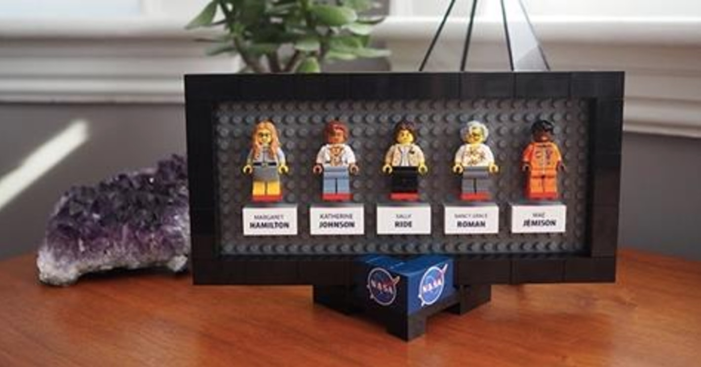 You've Probably Never Heard Of These Five Women, Which Is Exactly Why This LEGO Set Needs To Exist - Maia Weinstock