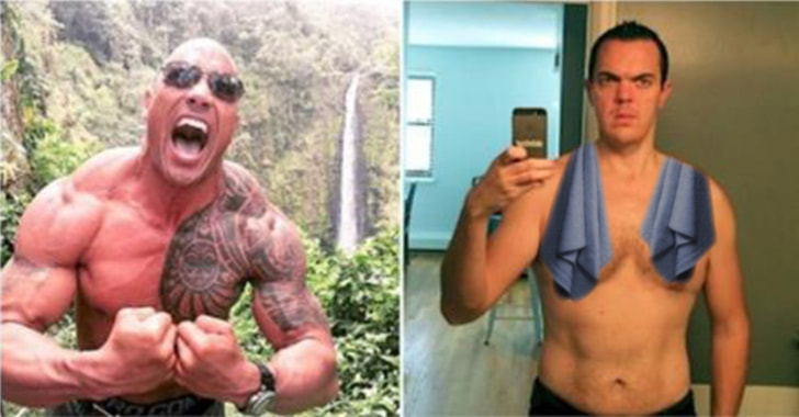 This Dude Spent 30 Days Living And Eating Like The Rock, And Here's What Happened To Him - The People's Champ