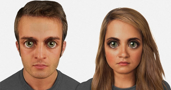 Here's What Humans Will Look Like In 1,000 Years - A Brave New Face