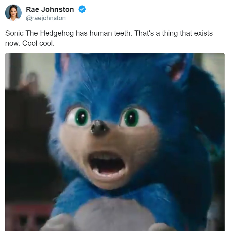 These Creepy Sonic Memes Actually Lead To A Better Movie What Were They Thinking Memes