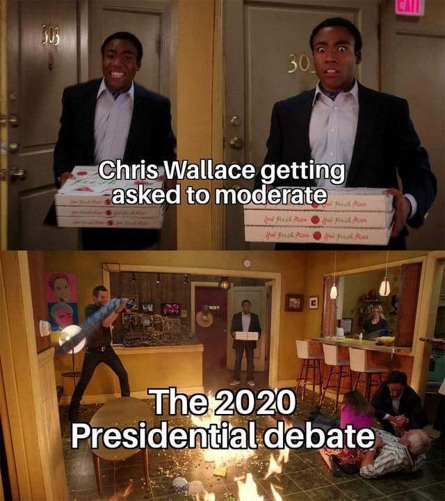 The First 2020 Presidential Debate Gave Us More Memes Than Answers The First 2020 Presidential Debate Memes