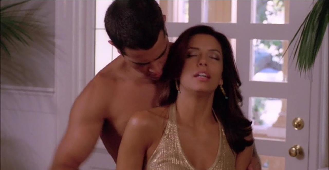 Eva longorias young gardener sex scene