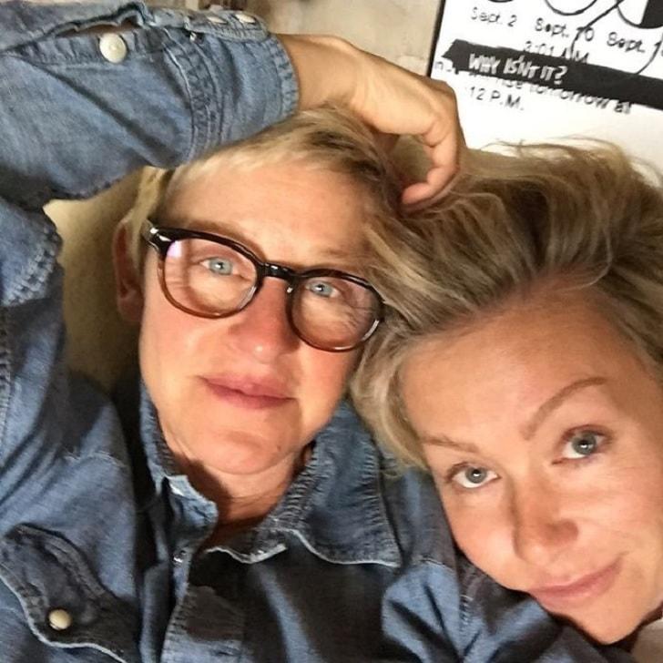 Ellen degeneres without makeup